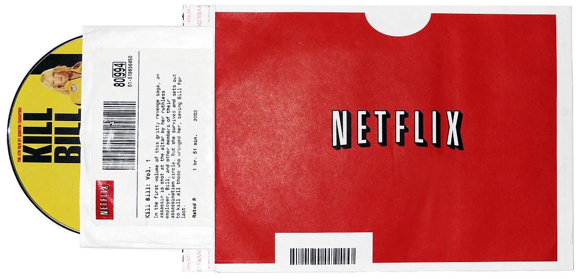 Netflix DVD - O Analista de Modelos de Negócios