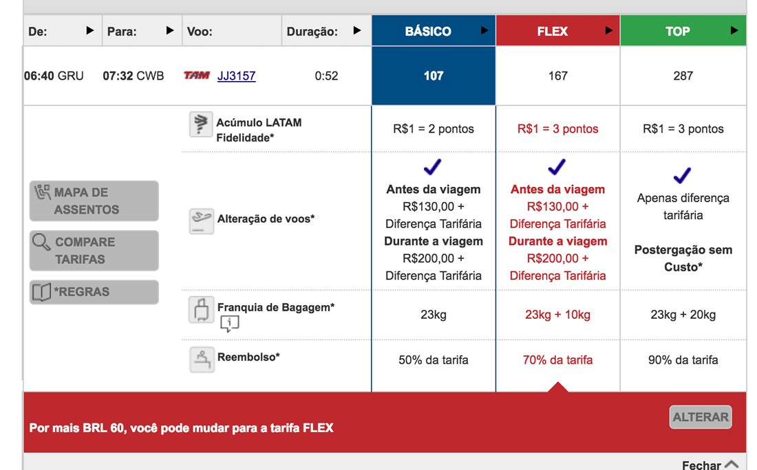 Tam Tipos Tarifas Low Cost