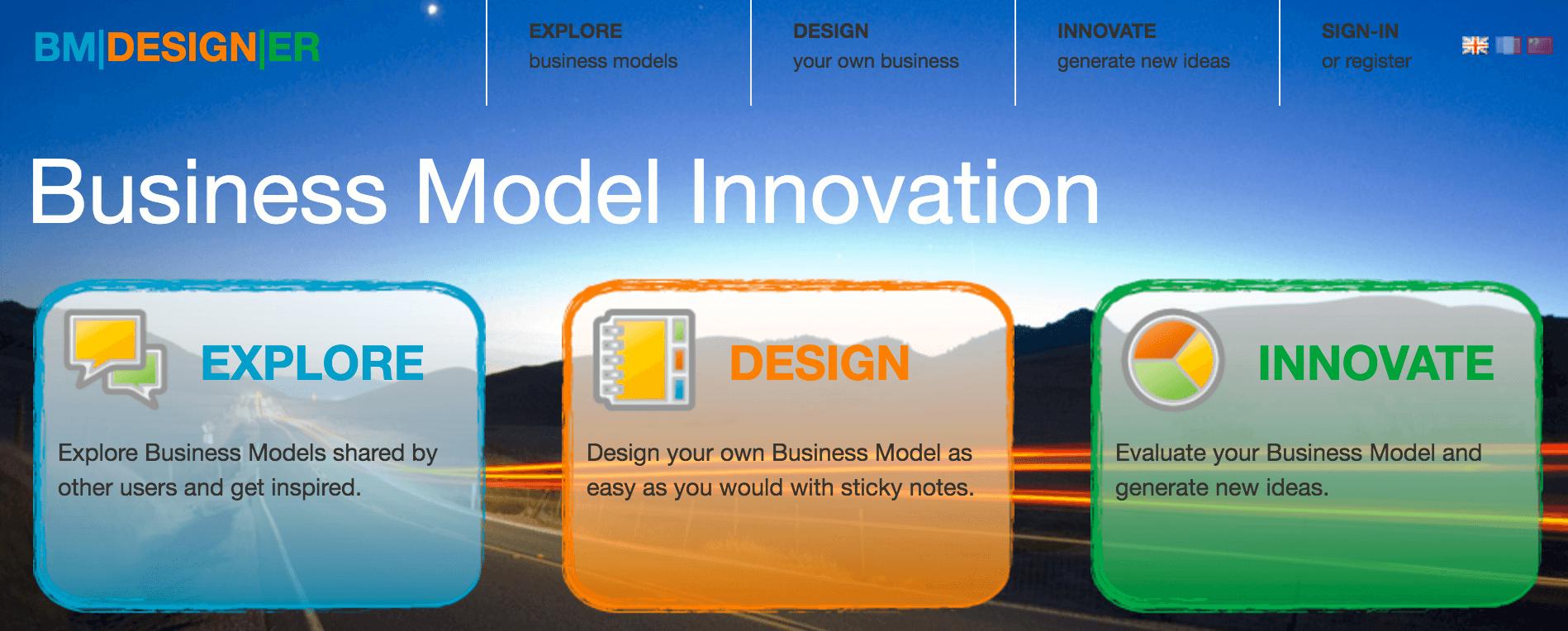 BM Designer - 10 Ferramentas de Modelo de Negócio