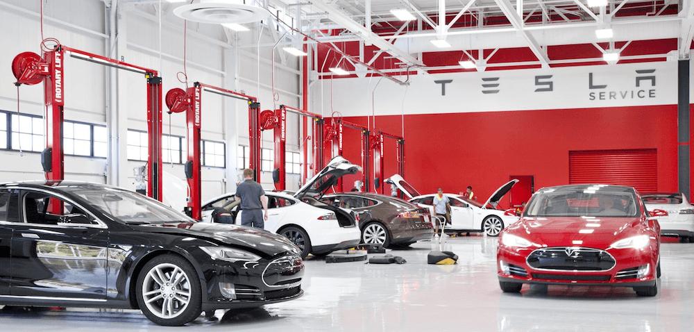 Serviços de Manutenção Tesla