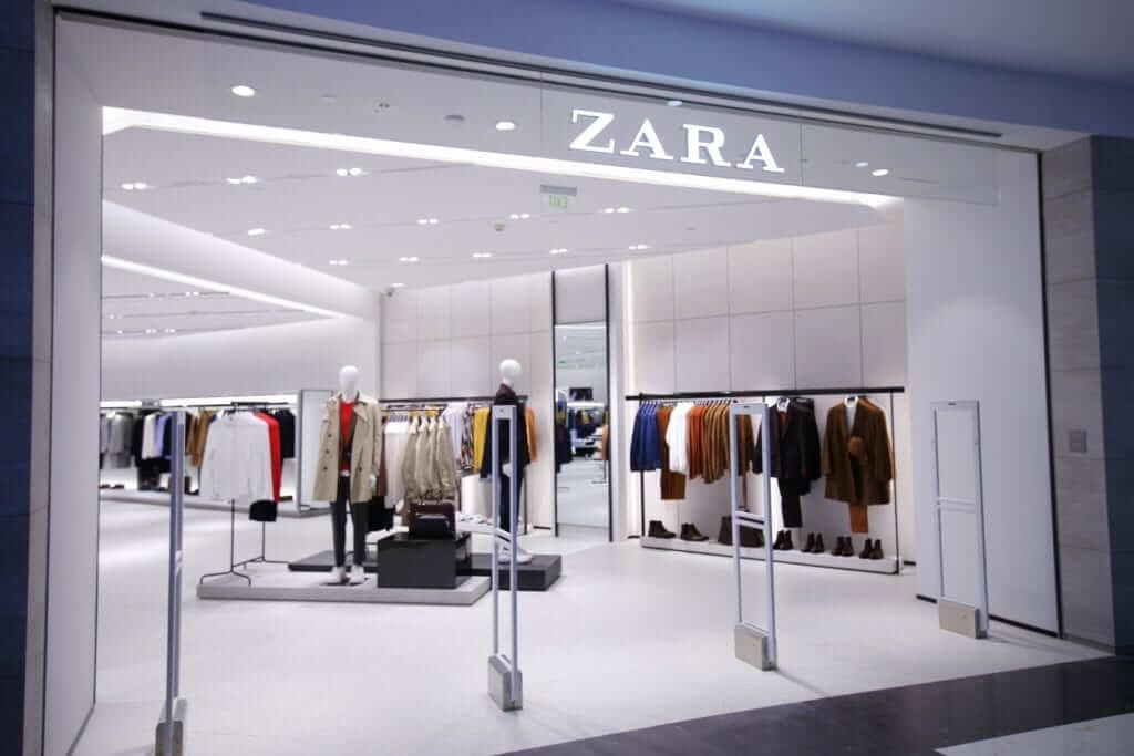 Loja - Modelo de Negócio da Zara