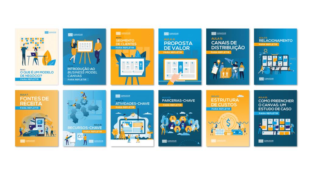 Cadernos para Refletir do Curso Desenvolvendo Modelos de Negócios com o Business Model Canvas
