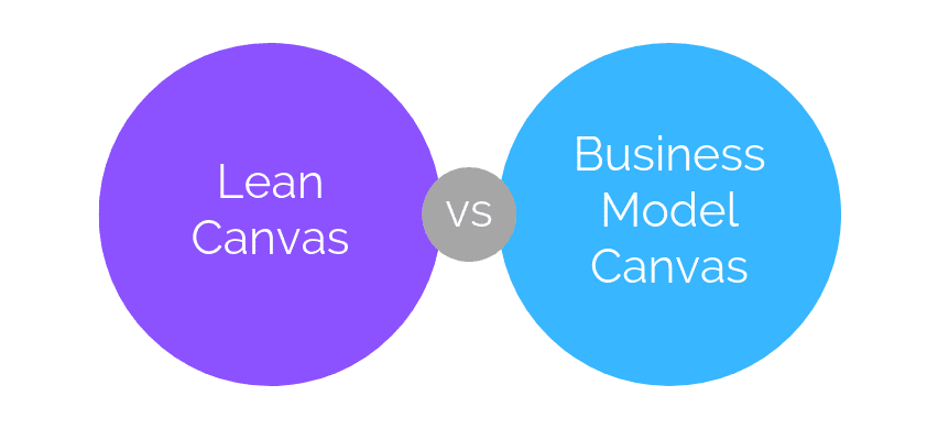 Qual a diferença entre o Business Model Canvas e o Lean Canvas?