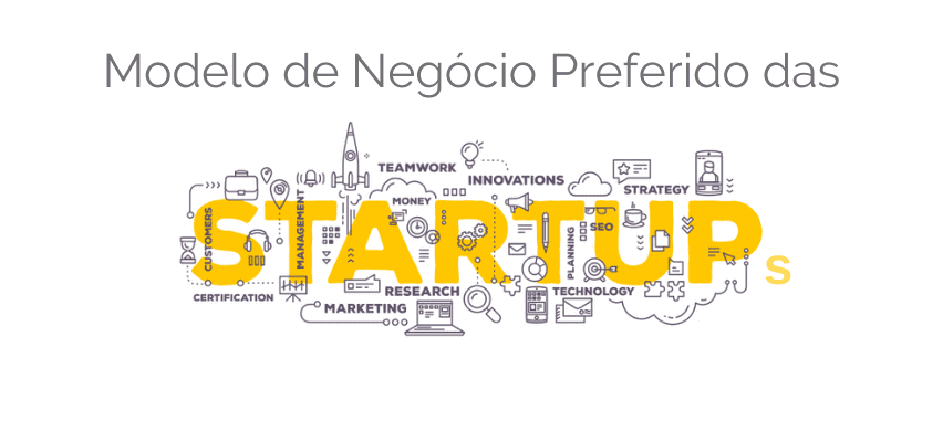 Modelo de Negócio Preferido das Startups