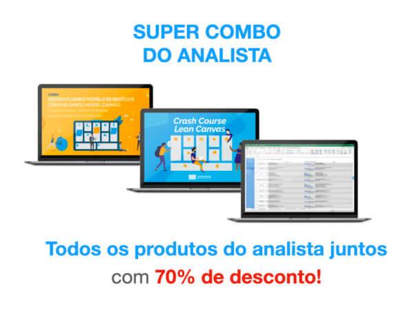 70% de Desconto - Super Combo do Analista